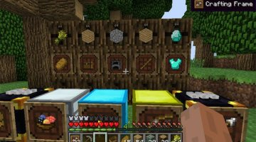 Super Crafting Frame Mod for Minecraft 1.11 and 1.10.2