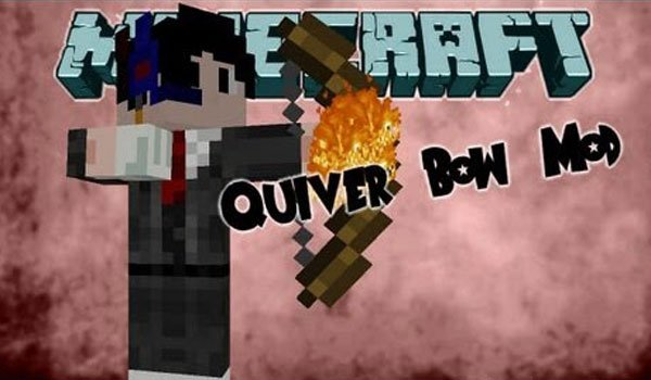 QuiverBow Mod for Minecraft 1.7.2 and 1.7.10