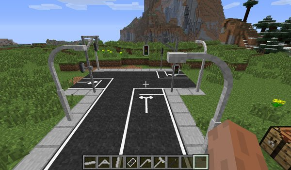 Lamps and Traffic Lights Mod for Minecraft 1.7.2
