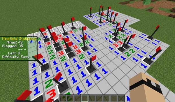 MineSweeper Mod for Minecraft 1.7.2