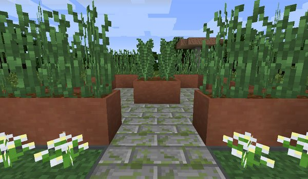 Modular Flower Pots Mod for Minecraft 1.7.2 and 1.7.10