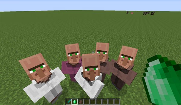 Villagers Need Emeralds Mod for Minecraft 1.7.2