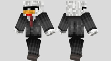 Agent Chicken Skin for Minecraft
