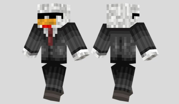 Agent Chicken Skin for Minecraft