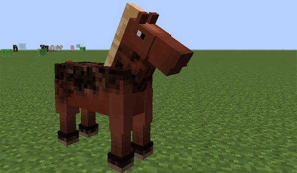 Better Horses Mod for Minecraft 1.7.2