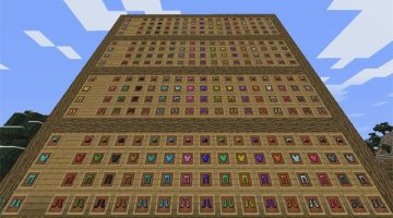 Colorful Armor Mod for Minecraft 1.10.2 and 1.9.4