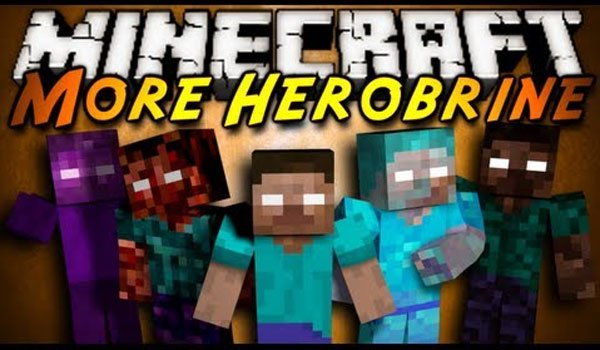 Mo' Herobrines Mod for Minecraft 1.7.2 and 1.7.10