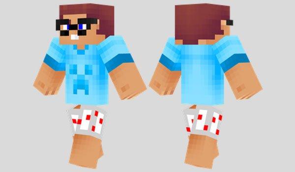 Noob Skin for Minecraft