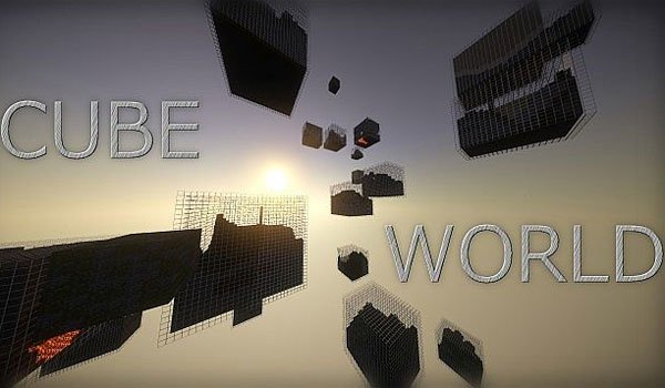 Cube World Generator Mod for Minecraft 1.7.2 and 1.7.10