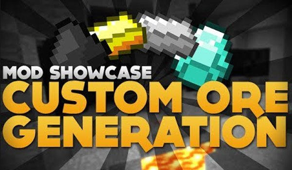 Custom Ore Generation Mod for Minecraft 1.7.2 and 1.7.10