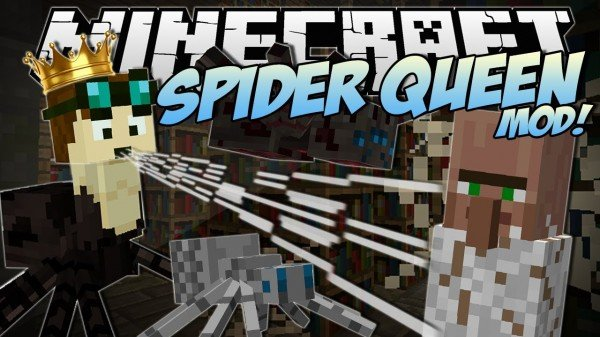 Spider Queen Mod for Minecraft 1.7.2 and 1.7.10