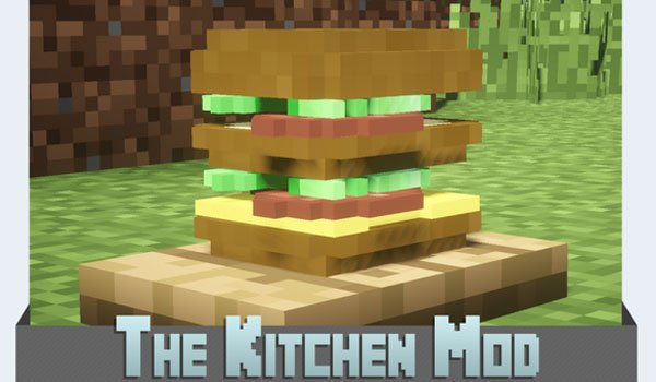 The Kitchen Mod for Minecraft 1.7.2 and 1.7.10