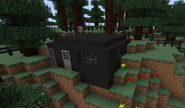 Bunker Mod for Minecraft 1.7.2 and 1.7.10