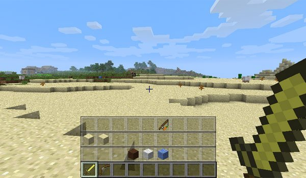 Quick Hotbar Mod for Minecraft 1.10 and 1.10.2