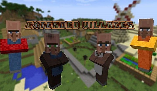 Extended Villages Mod for Minecraft 1.7.10