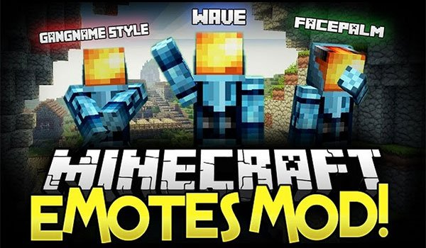 Emotes Mod for Minecraft 1.7.10