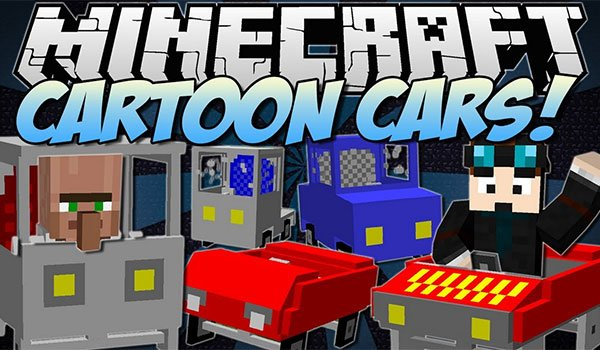 Cars and Drives Mod for Minecraft 1.7.2 and 1.7.10