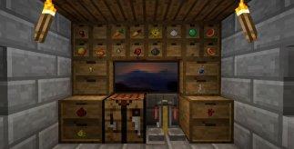 Storage Drawers Mod for Minecraft 1.7.10