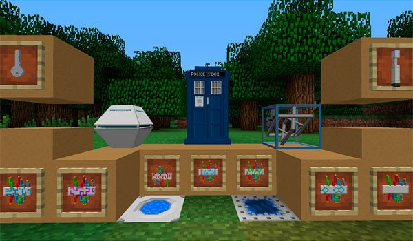 TARDIS Mod for Minecraft 1.7.10