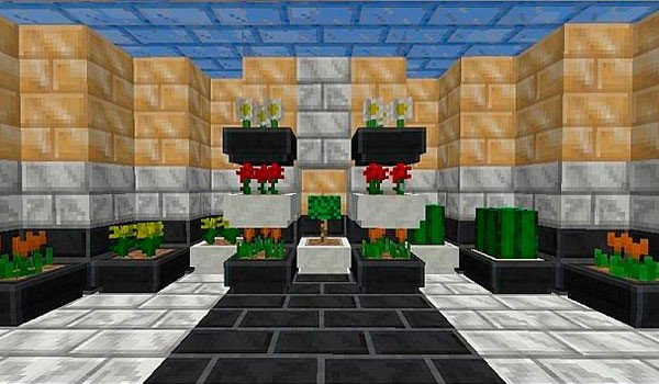 Ext Deco Mod for Minecraft 1.7.2 and 1.7.10
