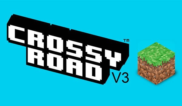 Crossy Road Map for Minecraft 1.8