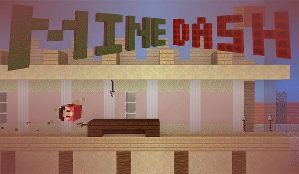 Mine Dash Map for Minecraft 1.8.7