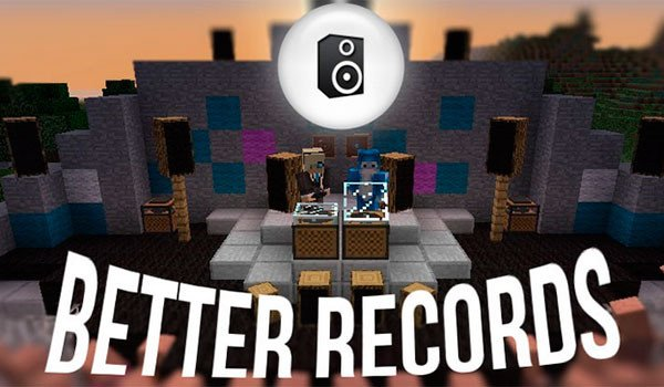 Better Records Mod for Minecraft 1.7.10 and 1.7.2
