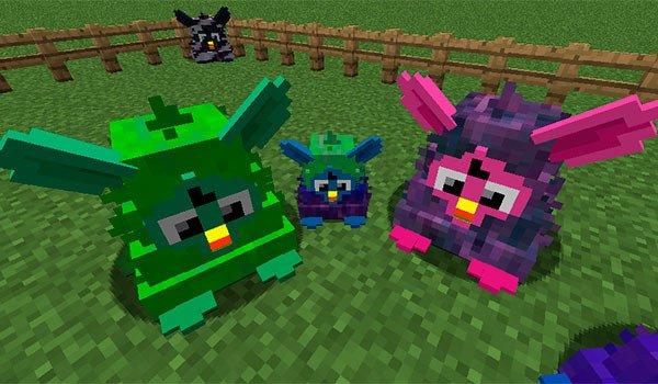 Furby Mania Mod for Minecraft 1.8