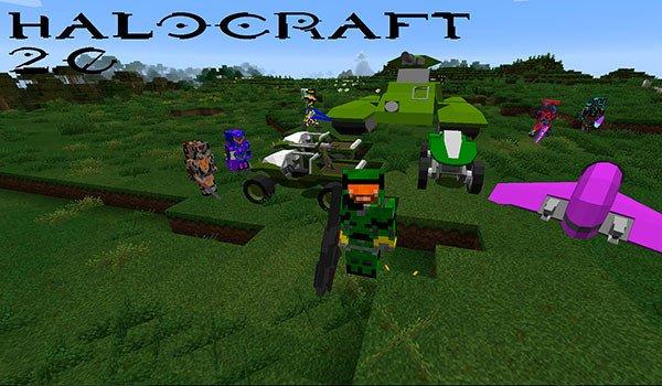 HaloCraft 2.0 Mod for Minecraft 1.8