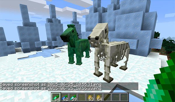 Horse Upgrades Mod for Minecraft 1.8