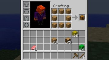 Inventory Crafting Grid Mod for Minecraft 1.8 and 1.8.9