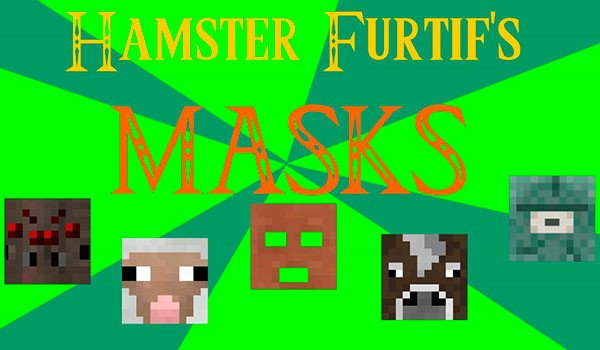 Masks Mod for Minecraft 1.8