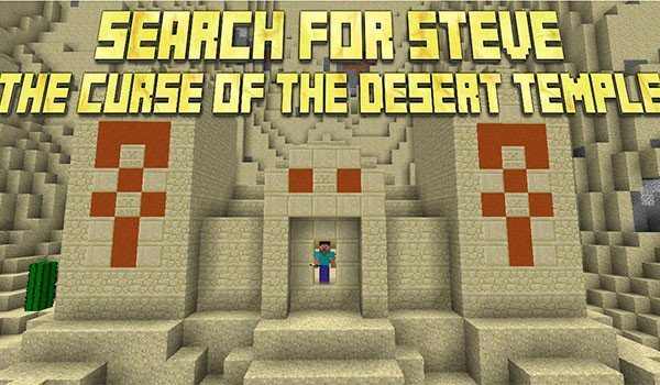 Search for Steve: The Curse of the Desert Temple Map for Minecraft 1.8