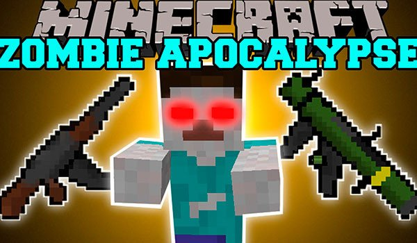 Zombie Warfare Mod for Minecraft 1.8