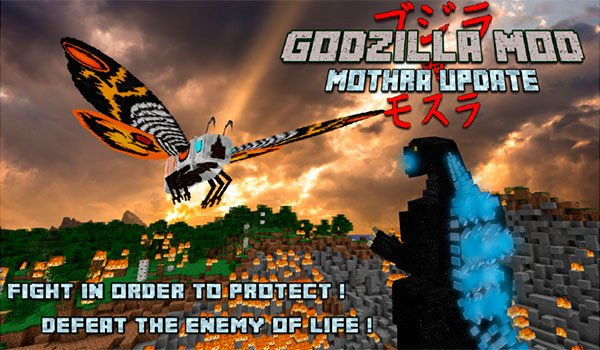 Godzilla Mod for Minecraft 1.7.10