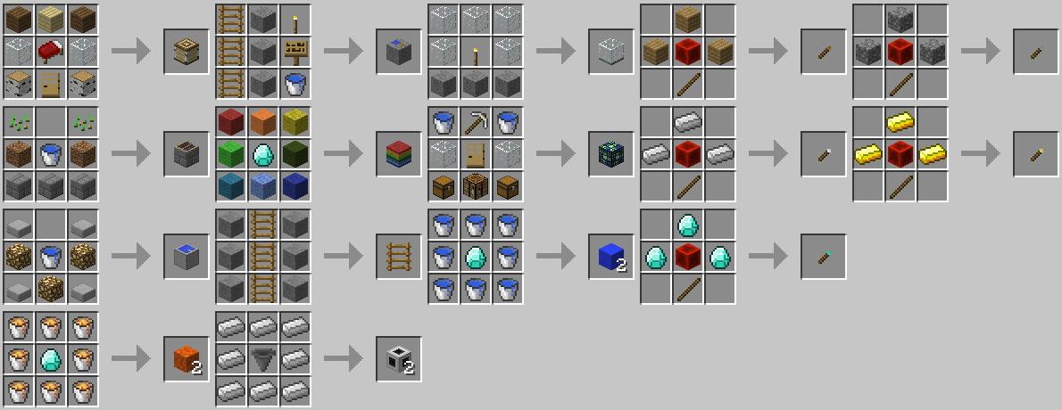 Mod Minecraft Blocks Instant