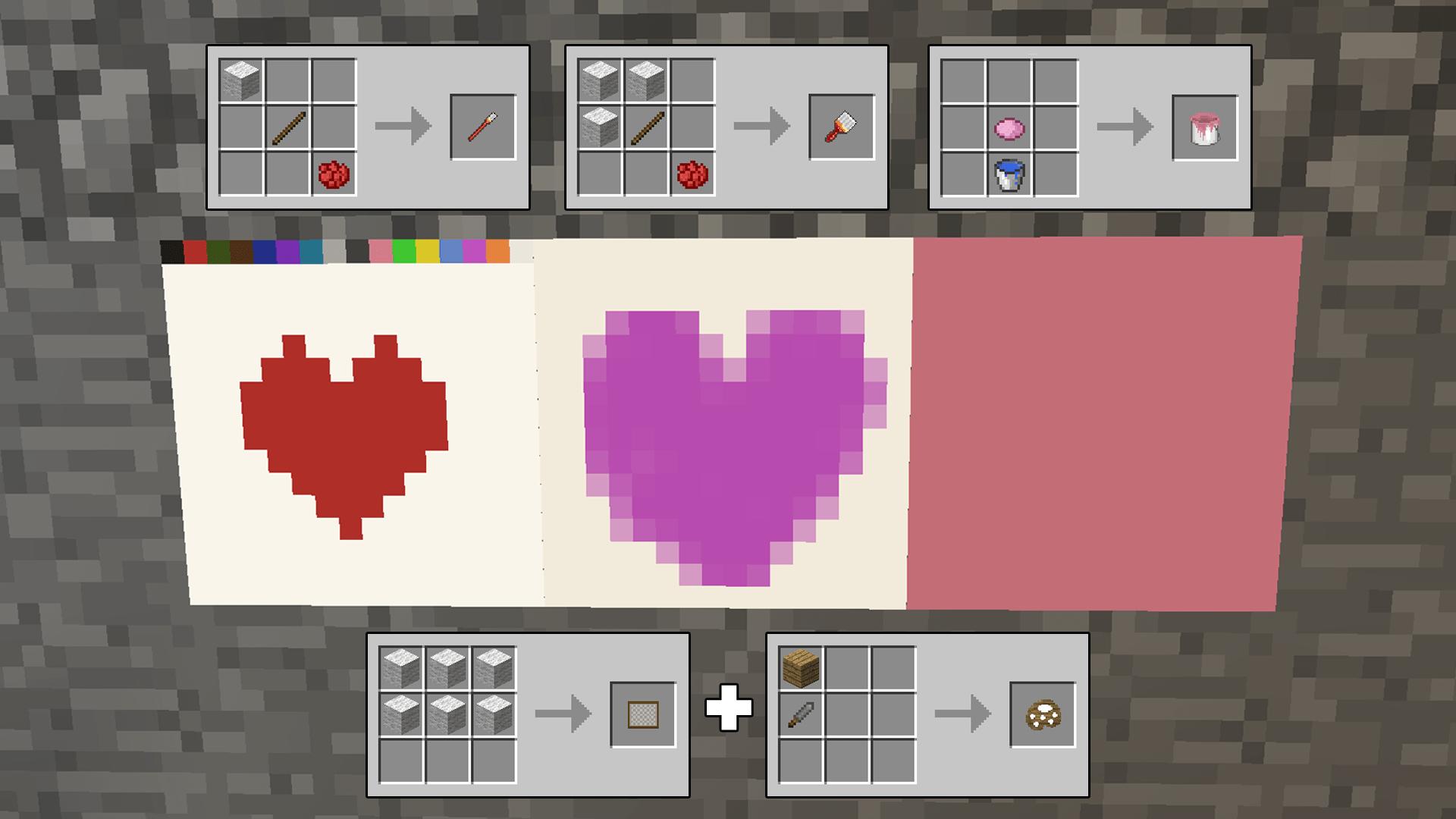 Mine Painter Minecraft Mods