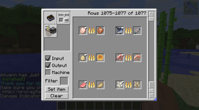 craftguide mod 1.10