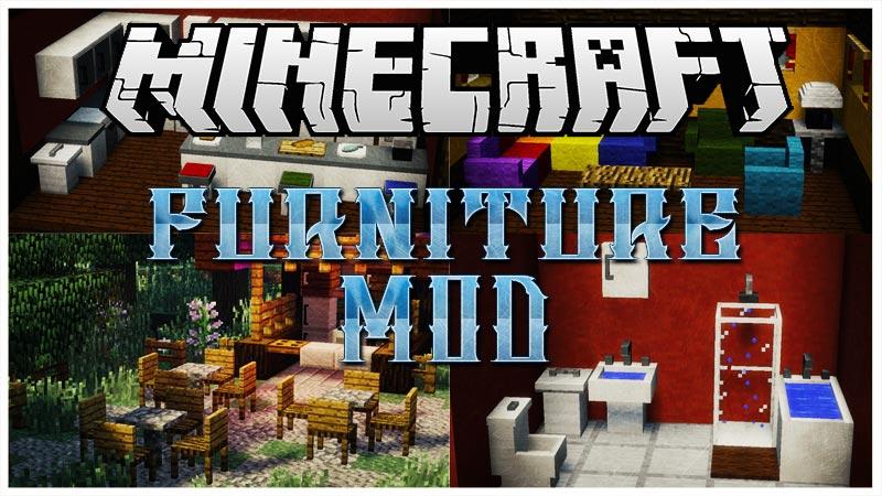 MrCrayfish's Furniture Mod for Minecraft 1.11/1.10.2/1.9.4