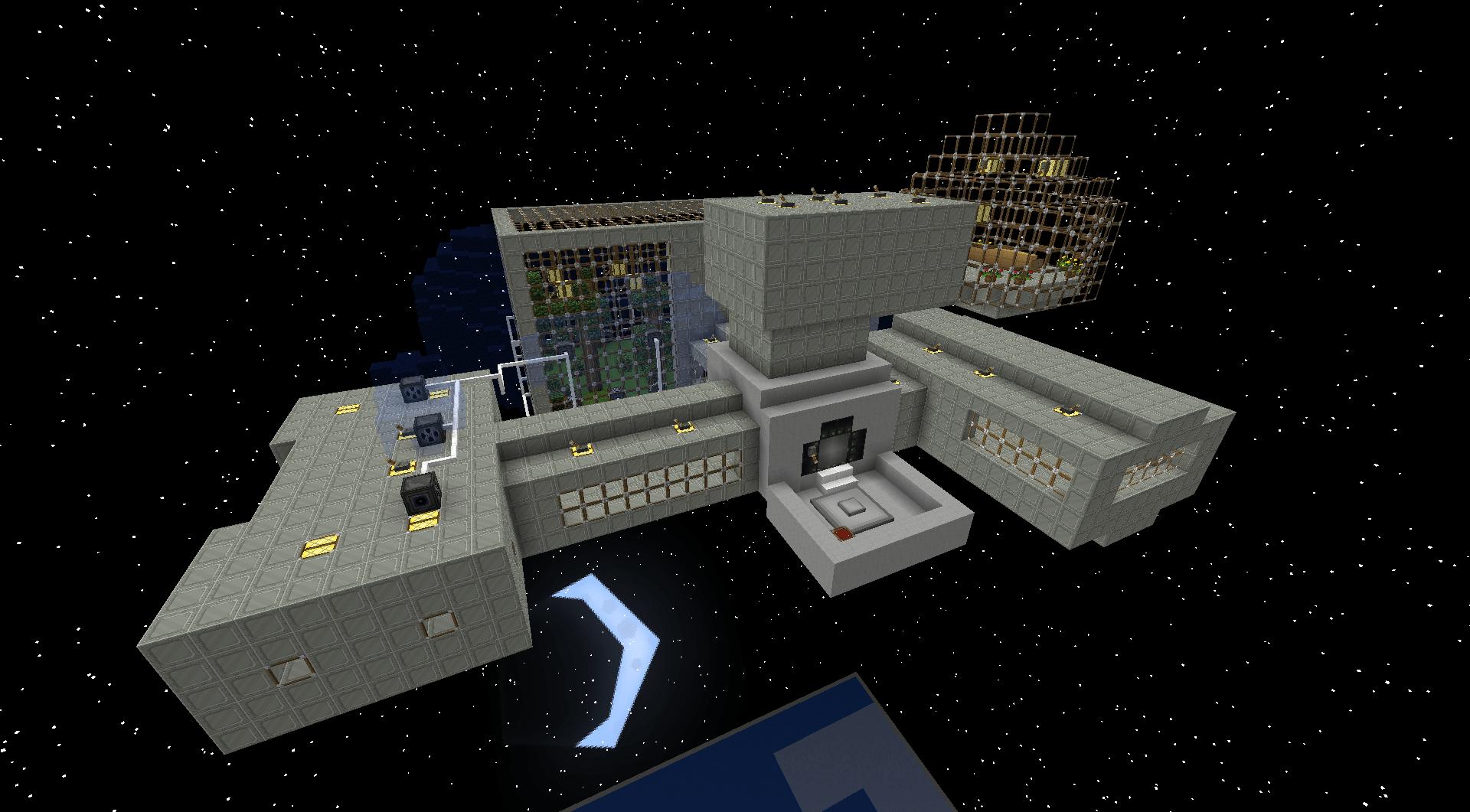 Скачать Galacticraft для Minecraft 1.7.10 - RU-M.ORG