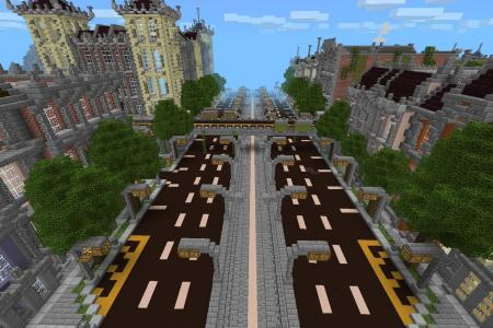 Minecraft Modern City Ideas Path Decorations Pictures Full Path - Minecraft pocket edition hauser download