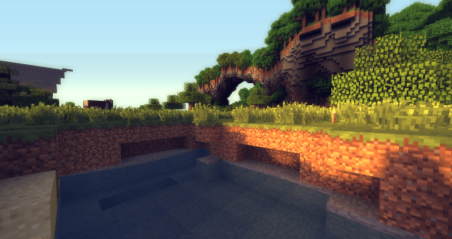 Minecraft Shaders Mod Screenshot