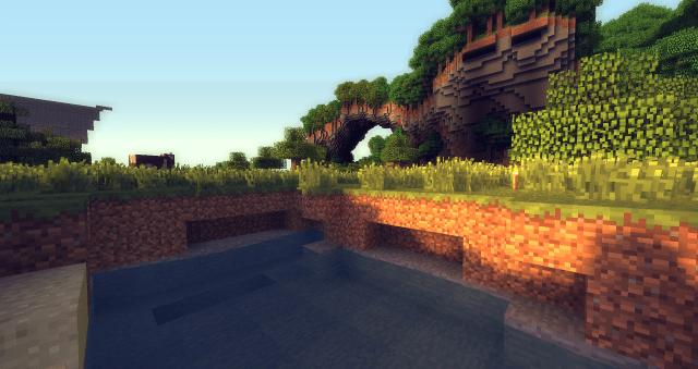 Minecraft Shaders Mod Screenshot