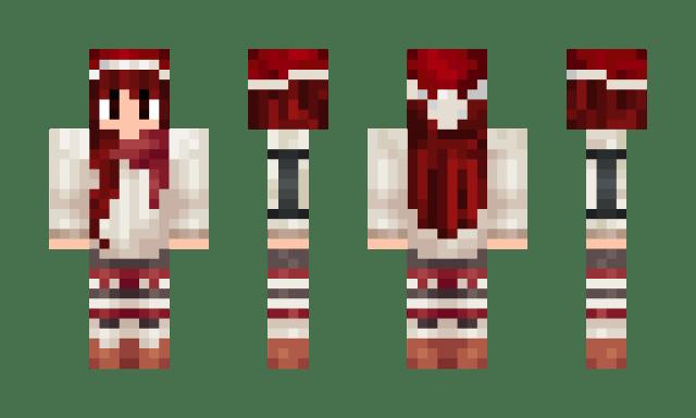 Minecraft Christmas Skin 2