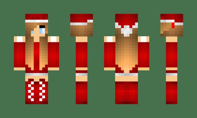 Minecraft Christmas Skin 9