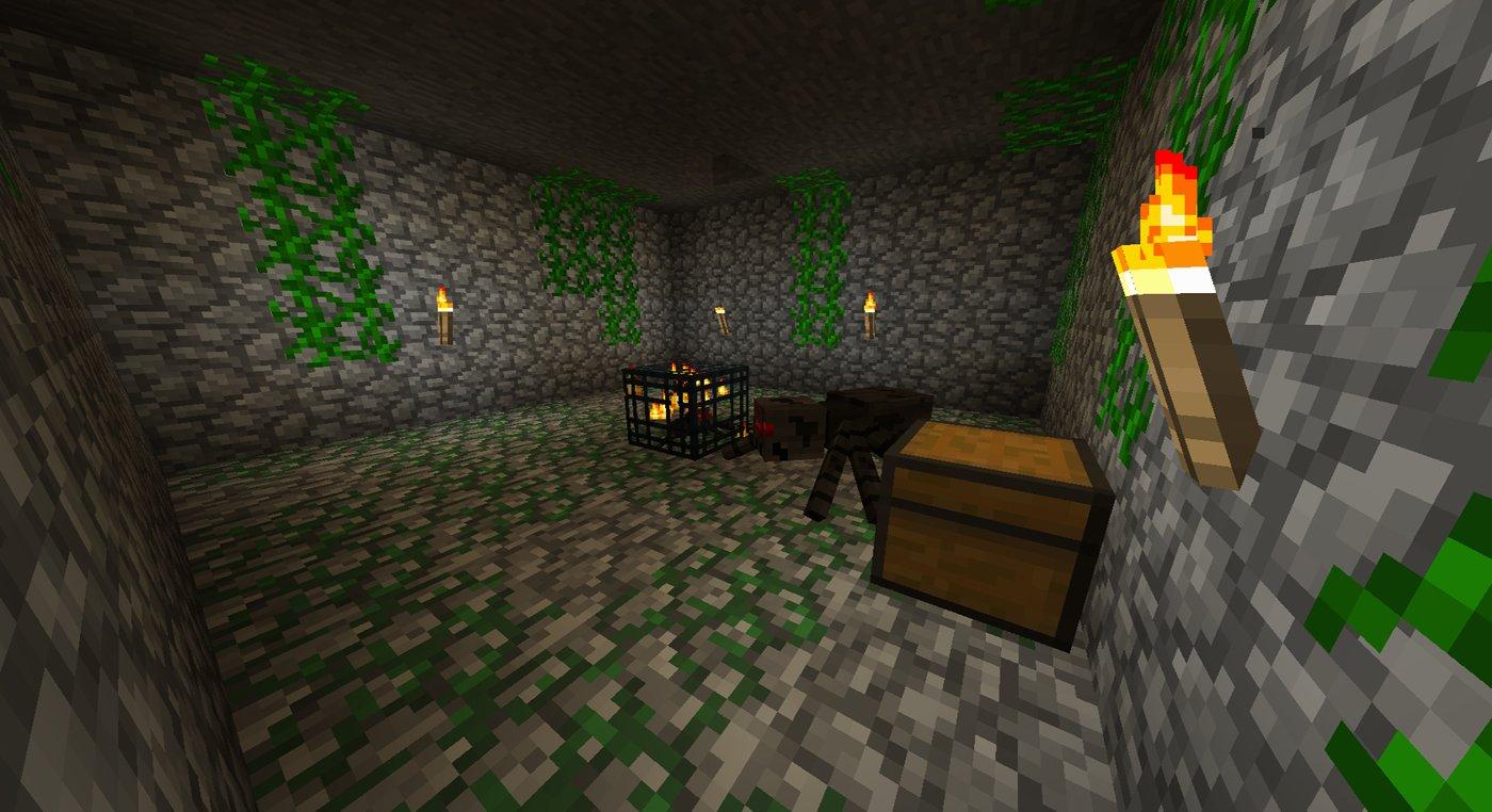 Dungeon Minecraft Craft Pe