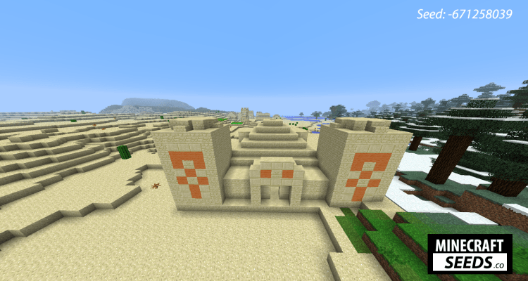 Diamond Village and Desert Temple -
