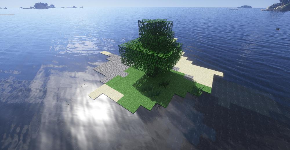 One Tree Survival Island Minecraft Seeds Java Edition