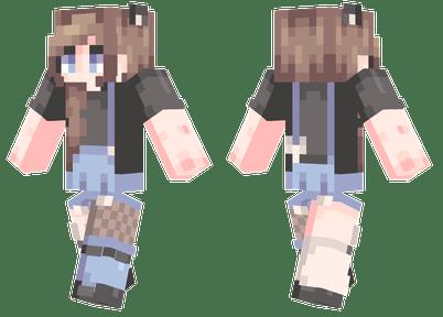 Brown Hair Minecraft Skins