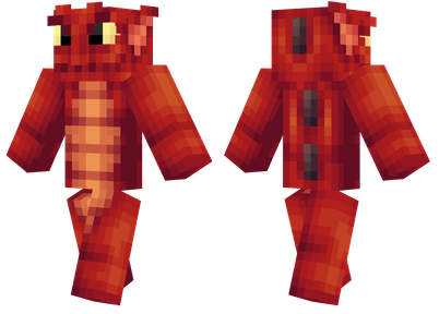 Red Sea Monster Minecraft Skins